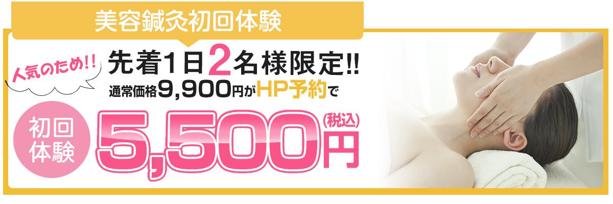 HP限定初回特別価格5,500円