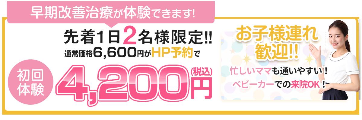初回限定4200円(税込)